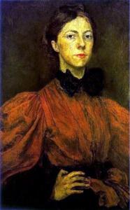 Gwen John autoportrait