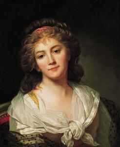 Marie-Geneviève Bouliard autoportrait