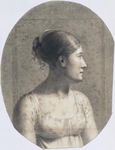 Constance Marie Charpentier autoportrait