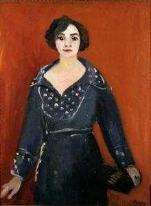 Emilie Charmy Autoportrait