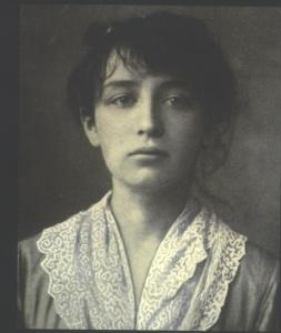 Camille Claudel portrait