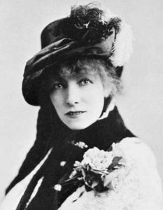 Sarah Bernhardt portrait