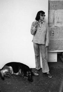 Joan Mitchell portrait