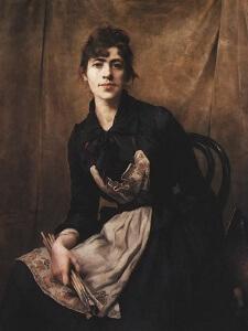 Anna Bilinska-Bohdanowicz Autoportrait