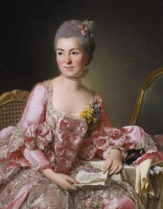 Marie-Suzanne Roslin autoportrait