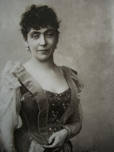 Madeleine Jeanne Lemaire autoportrait